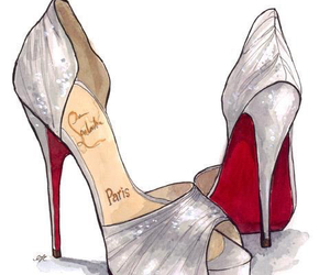 shoes, high heels, and louboutin image