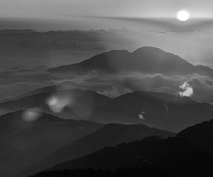 landscape and sun image