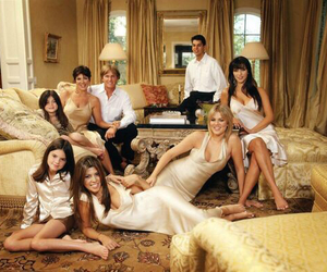 family, kris jenner, and kim kardashian image