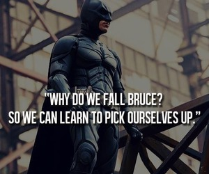 batman, quote, and bruce wayne image