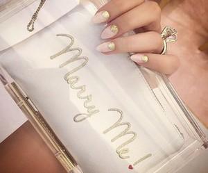 fashion, nails, and bag image