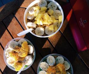 food, girl, and hawaii image