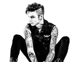 andy, black veil brides, and andy biersack image