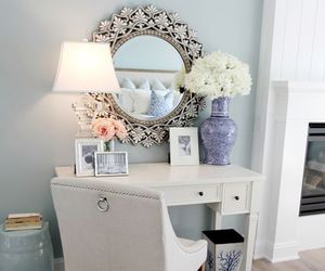 home, mirror, and white image
