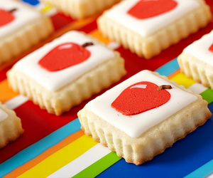 apple, cake, and cookie image