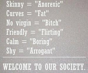 society, sad, and skinny image
