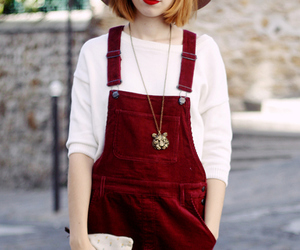 mode, style, and red look image