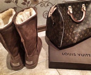 Louis Vuitton, ugg, and louisvuitton image