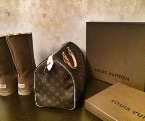 Louis Vuitton, LV, and ugg image