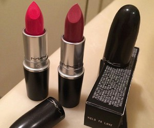 lipstick, mac, and luxury image