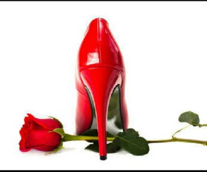 lovely, romantic, and red image