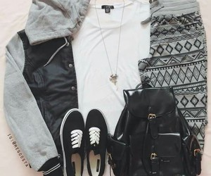 fashion, black, and outfits image