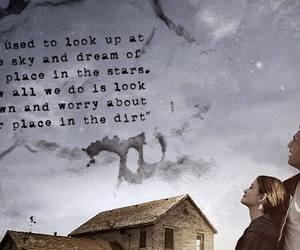 dirt, sky, and movie quotes image