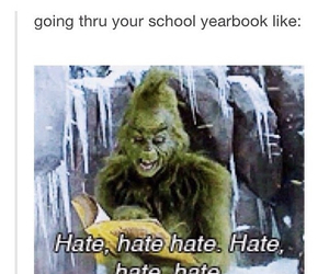 funny, hate, and school image