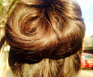 awesome, bun, and beauty image