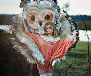Goldfrapp, owl, and photography image
