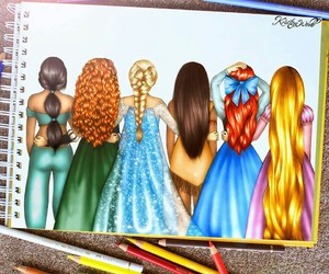 ariel, hairstyles, and jasmine image