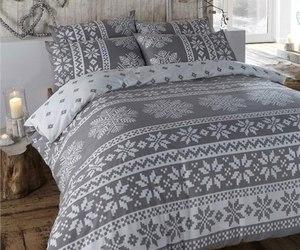bedroom, winter, and christmas image
