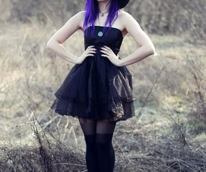 girl, goth, and gothic image