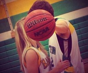 love, Basketball, and couple image