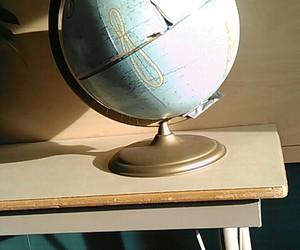 fun, globe, and roadtrip image