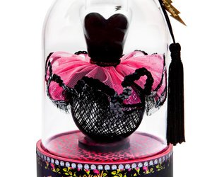 black and pink, perfume, and too too image