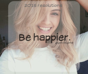 happy, resolution, and smile image