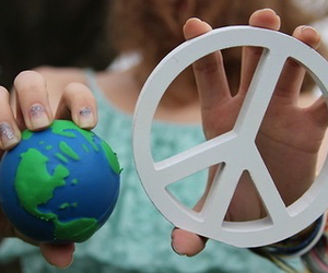 peace, cool, and hipster image