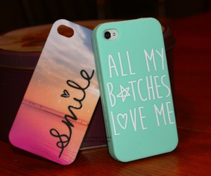 case, iphone, and smile image
