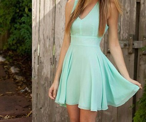 dress, fashion, and simple image