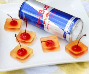 drink, cherry, and cool image