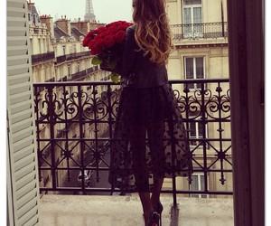 fashion, paris, and rose image