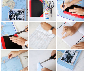 diy, journal, and travel image
