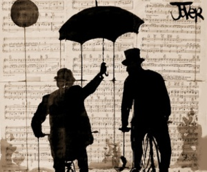 painting, saatchi, and umbrella image