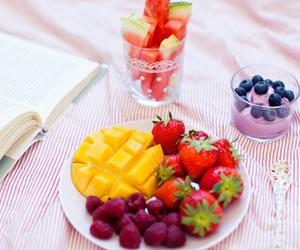 breakfast, yummy, and fruit image