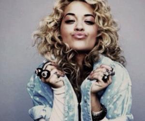 rita ora and blonde image