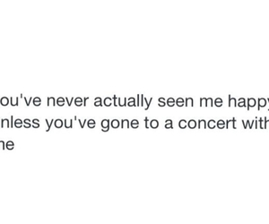 bands, concert, and feelings image