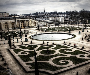 baroque, versailles, and castle image
