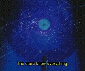 stars, quote, and space image