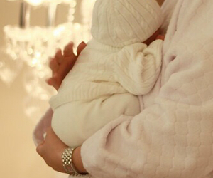 baby, white, and sweet image