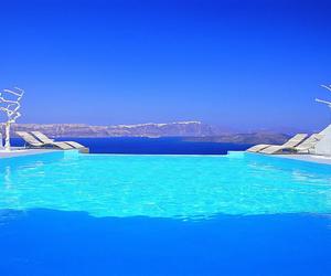 summer, santorini, and Greece image