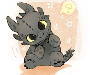 dragon, toothless, and kawaii image