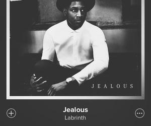 labrinth, jealous, and music image