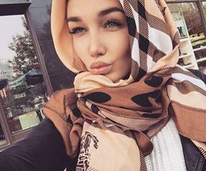 beauty, hijab, and islam image