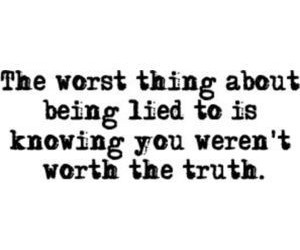 quotes, lies, and truth image