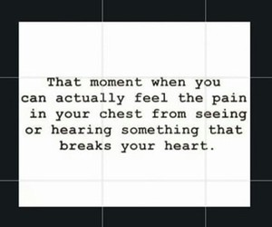 broken heart, lost, and pain image