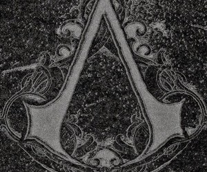Logo and assassin's creed image