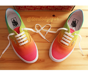 ombre and vans image