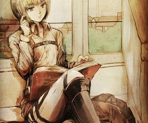 armin and attack on titan image