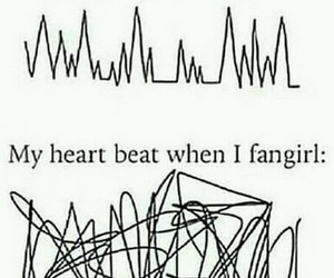 fangirl, funny, and true image